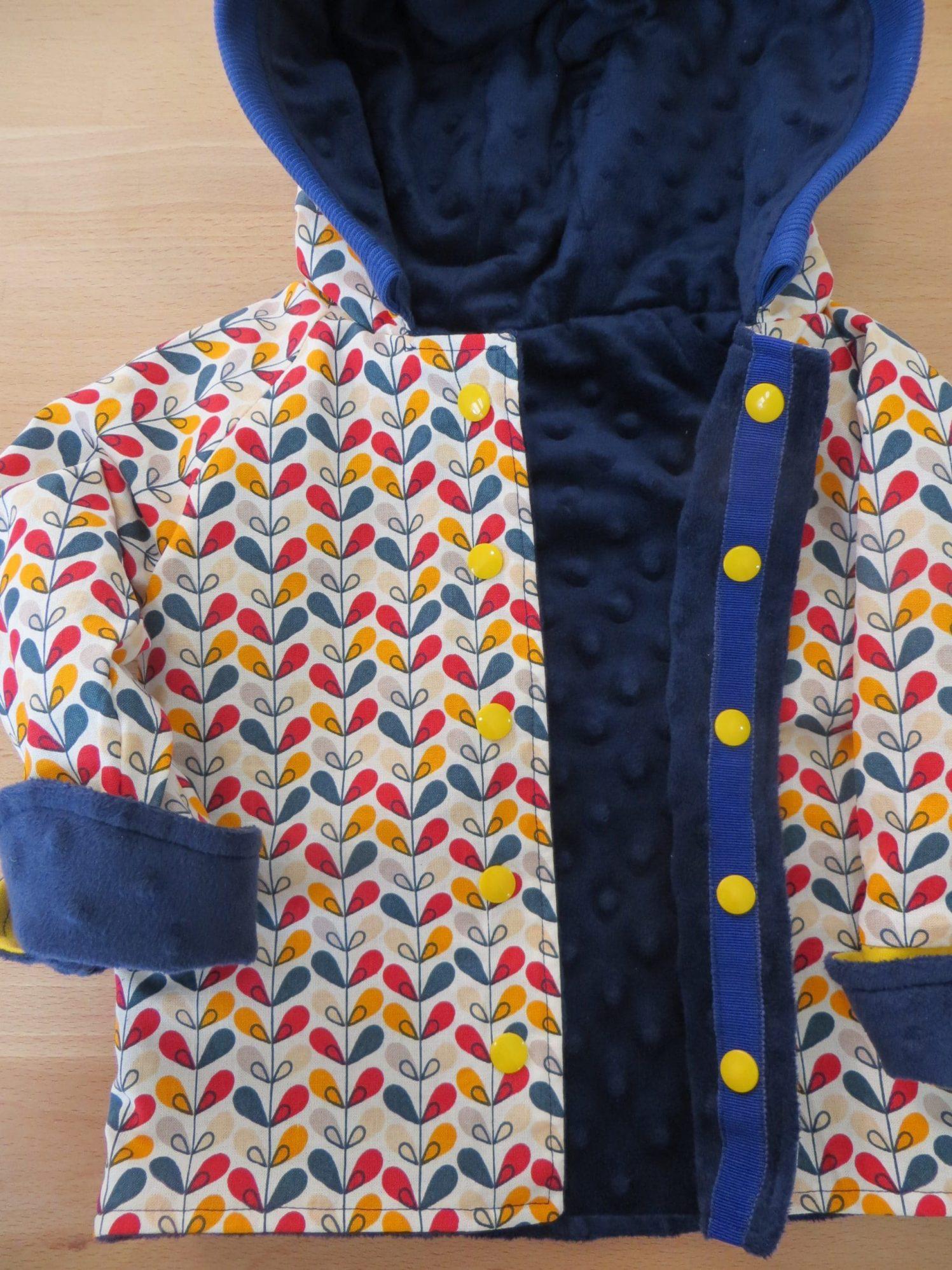 Une veste enfant réversible