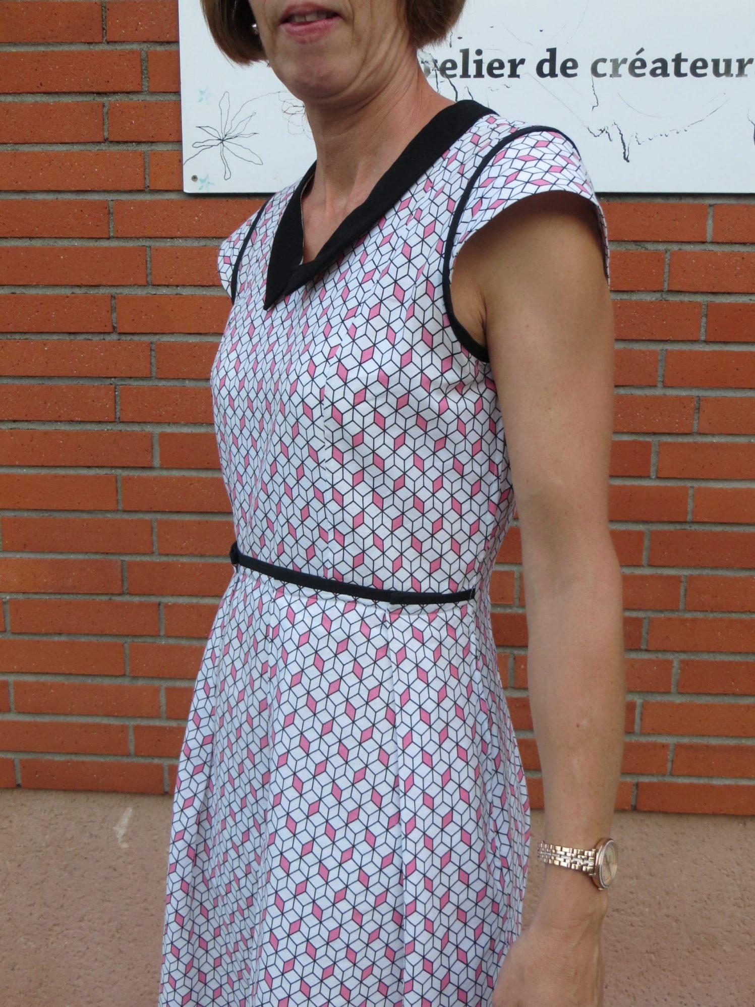 Une robe avec des jolis détails