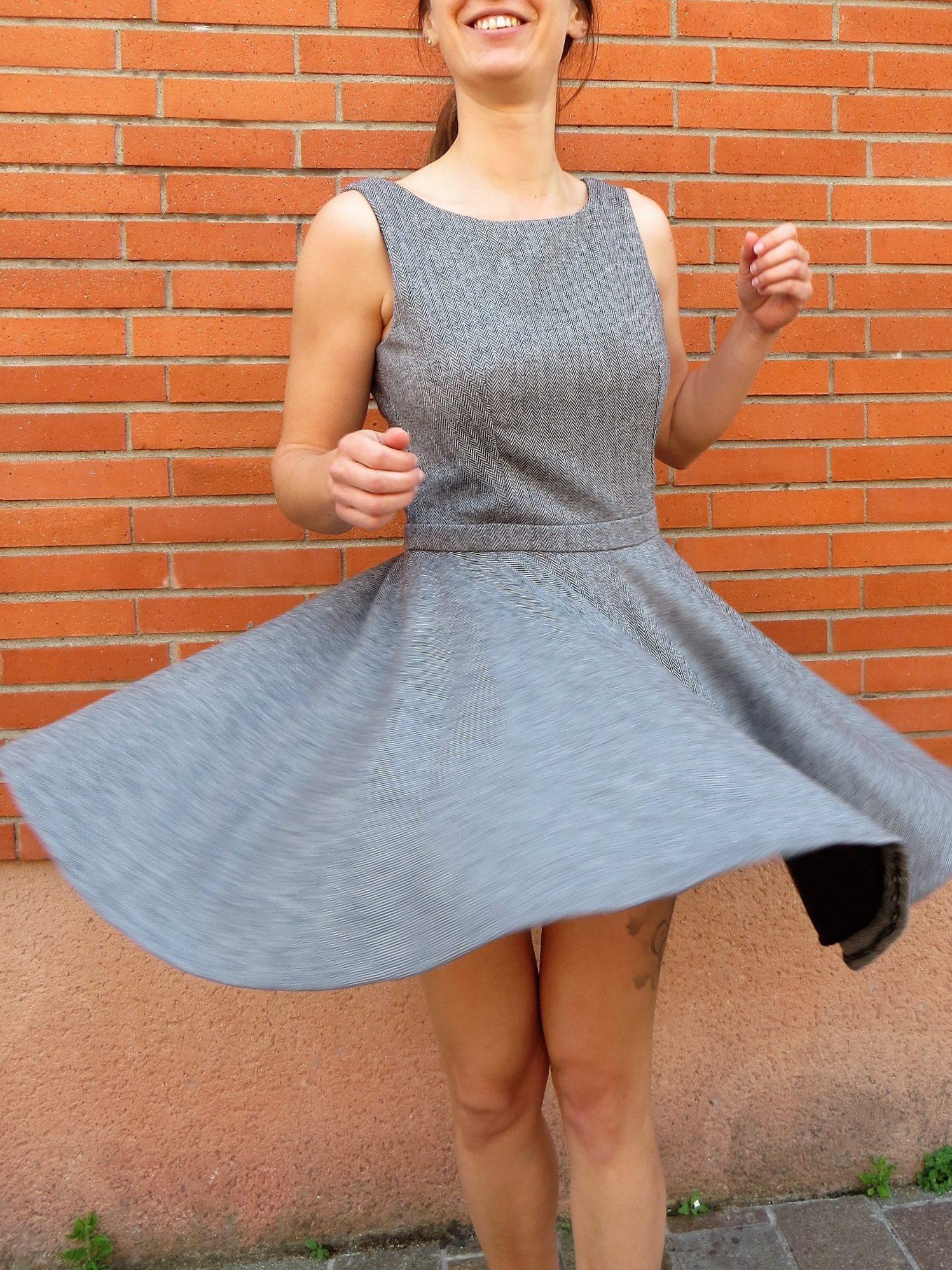 Une robe qui fait tourner la tête