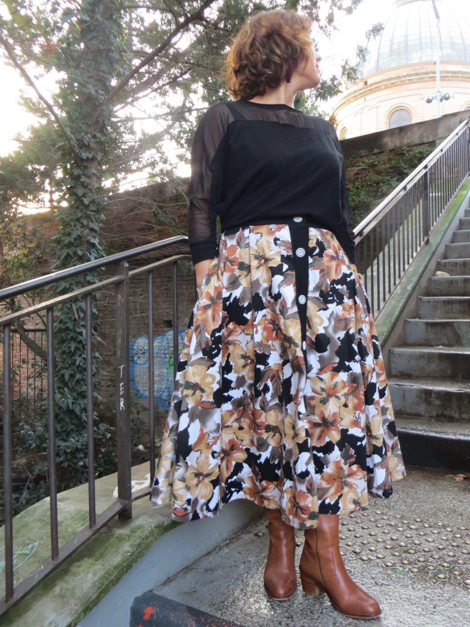 La jupe boutonnée à adopter cet automne